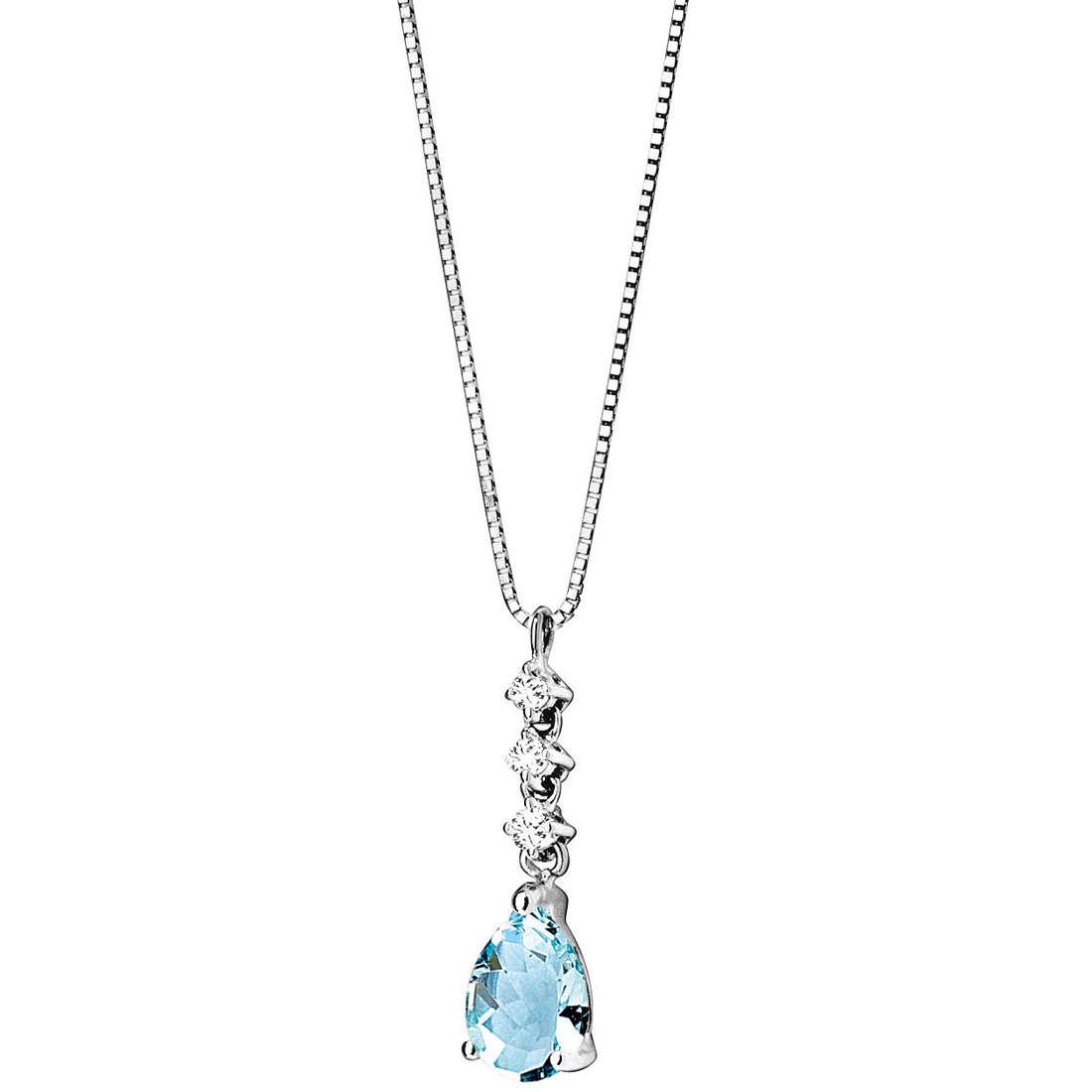 collana donna gioielli Comete Pietre preziose colorate GLQ 221