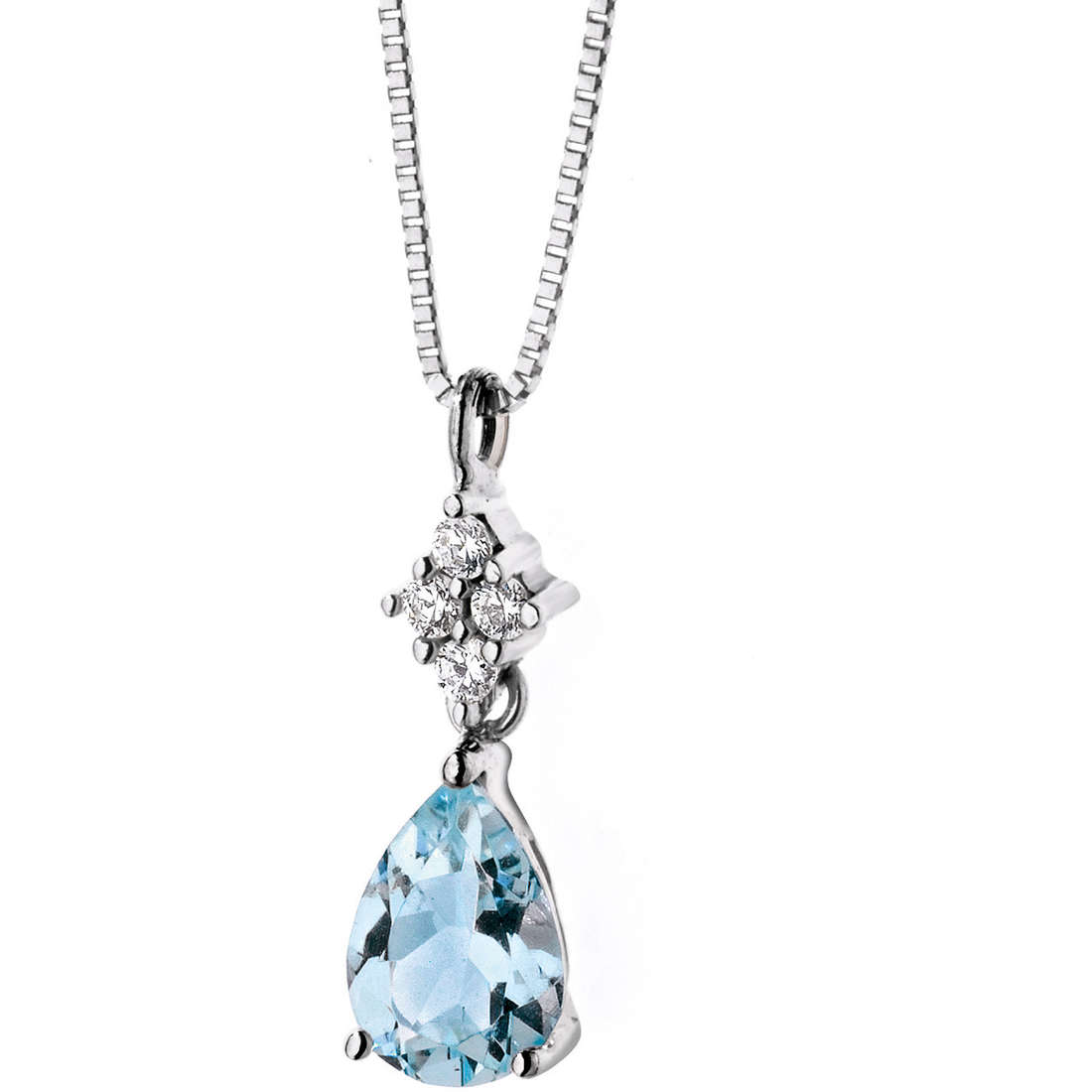 collana donna gioielli Comete Pietre preziose colorate GLQ 230