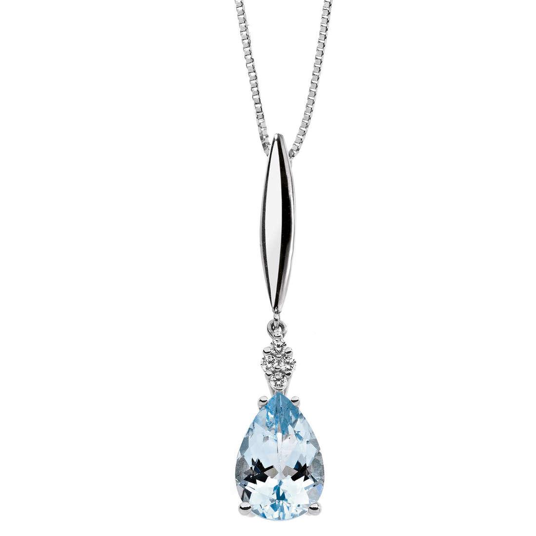 collana donna gioielli Comete Pietre preziose colorate GLQ 233