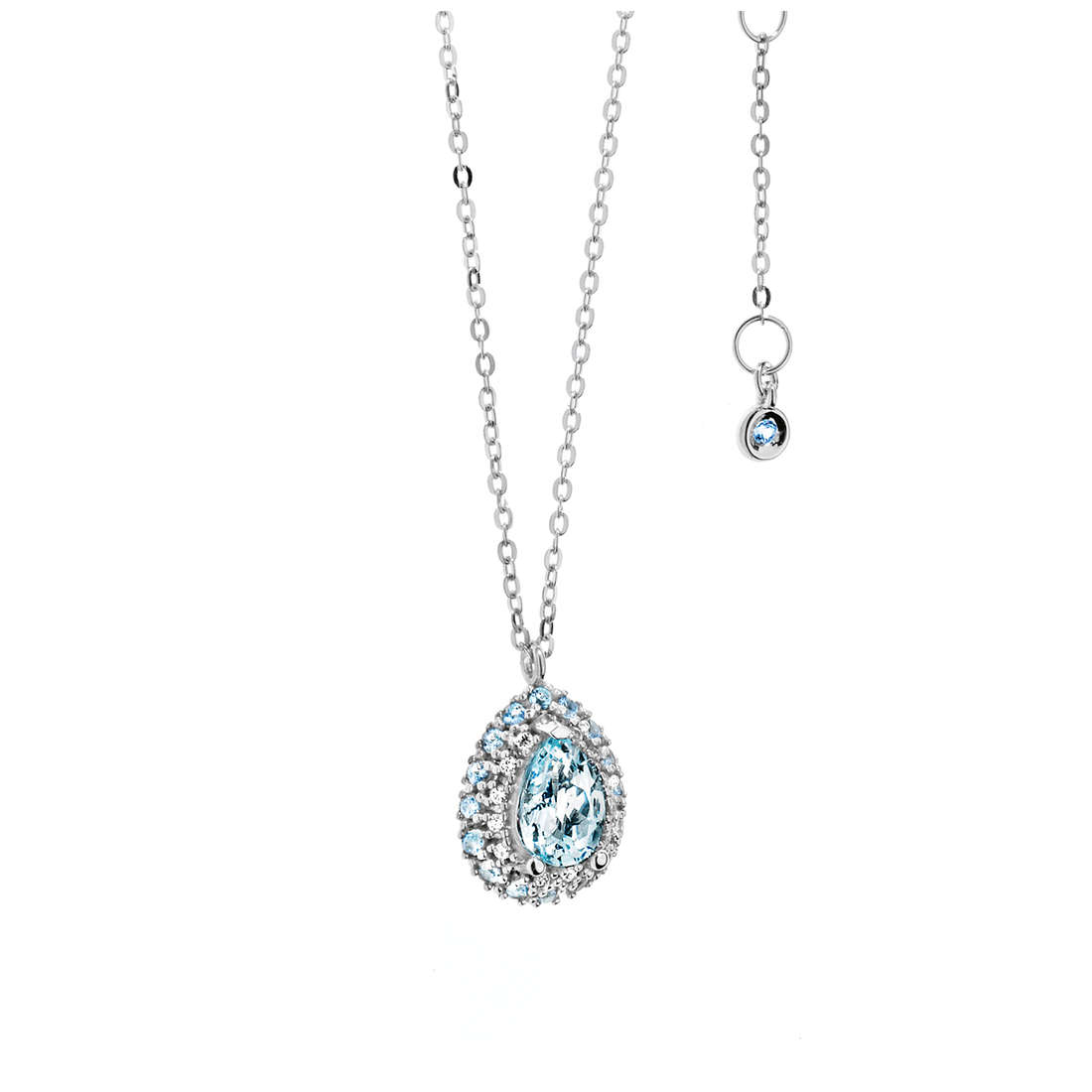 collana donna gioielli Comete Pietre preziose colorate GLQ 240