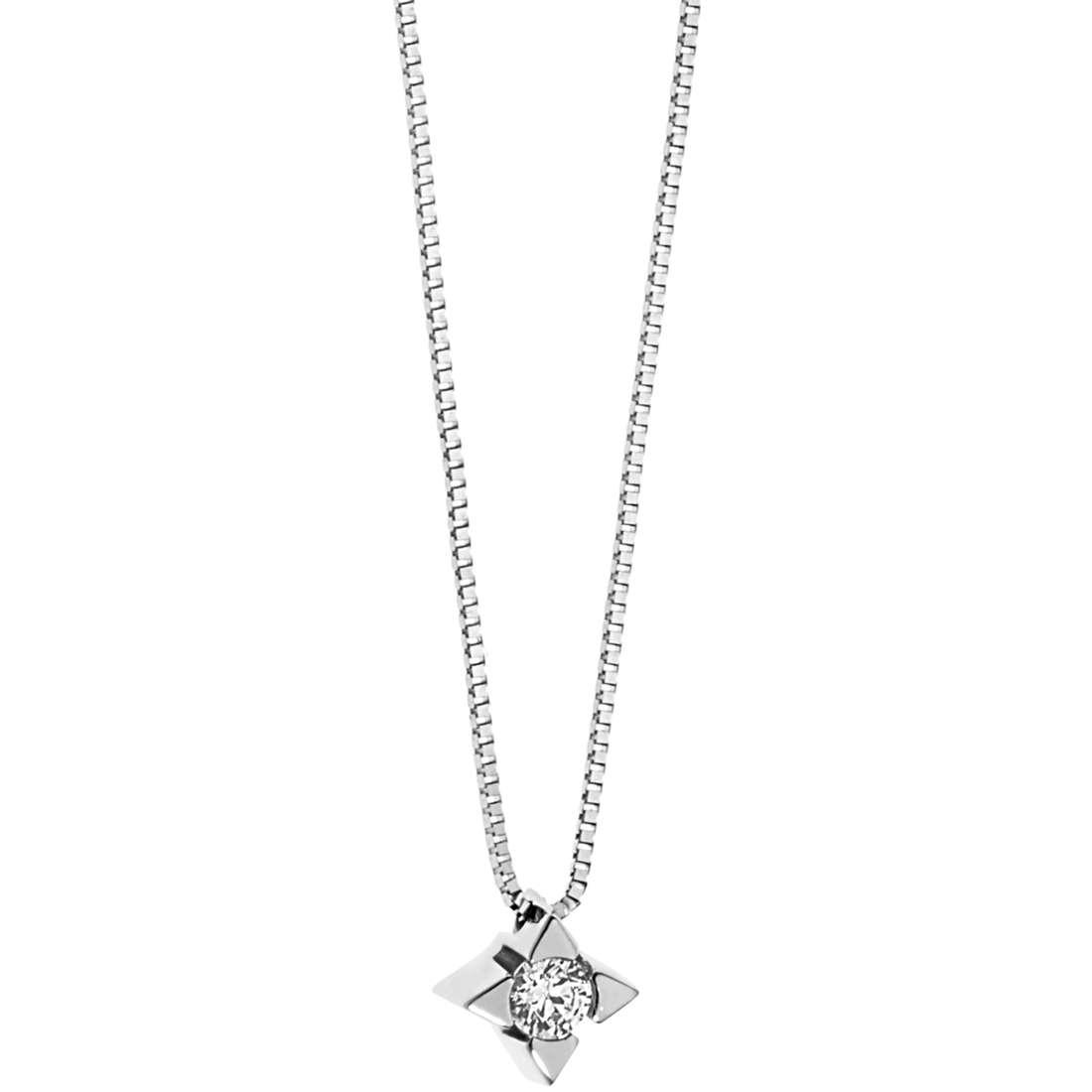 collana donna gioielli Comete Punti Luce GLB 1277