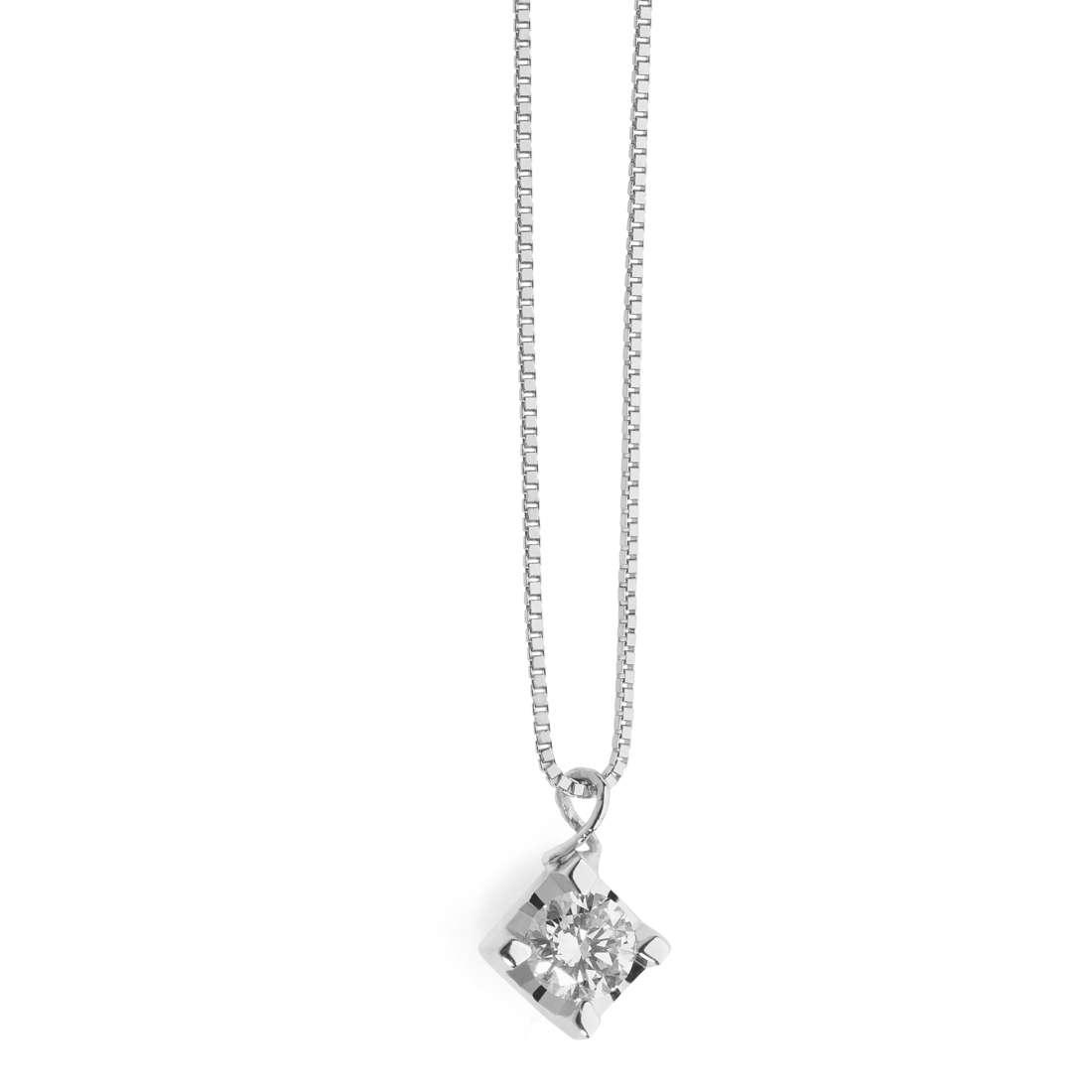 collana donna gioielli Comete Punti Luce GLB 1283