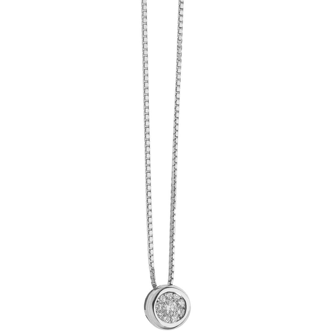 collana donna gioielli Comete Punti Luce GLB 1301