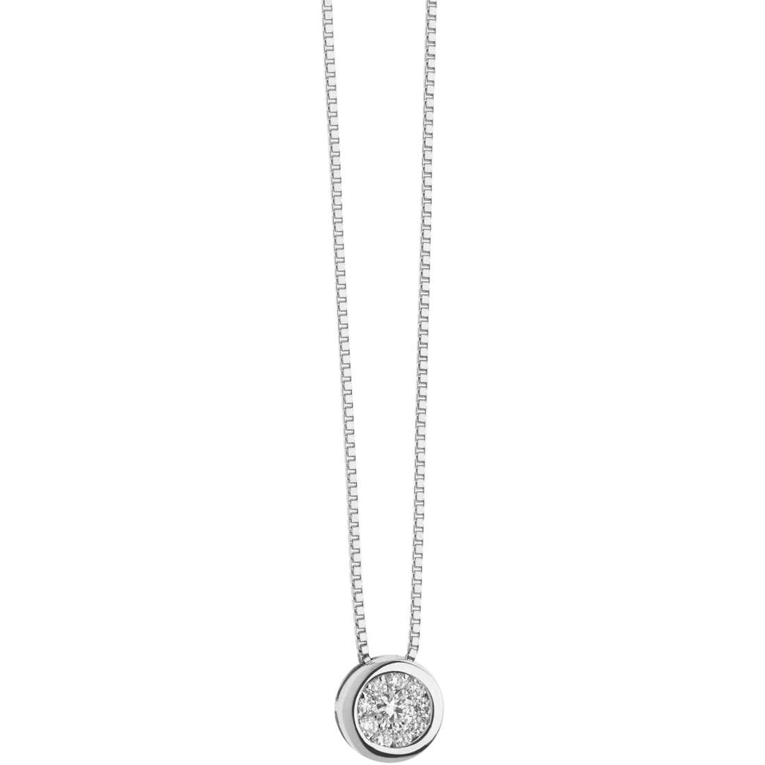 collana donna gioielli Comete Punti Luce GLB 1302
