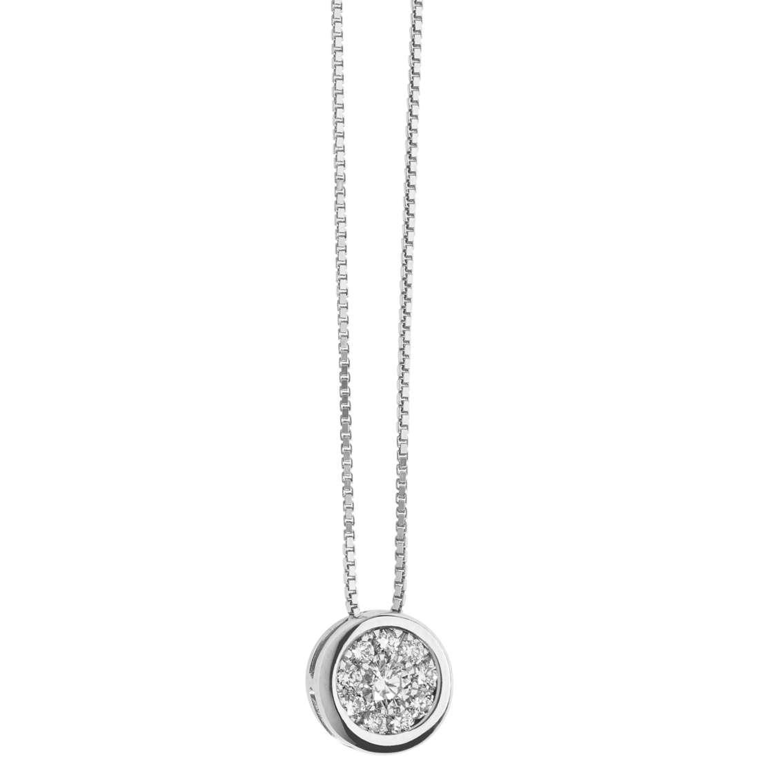 collana donna gioielli Comete Punti Luce GLB 1304