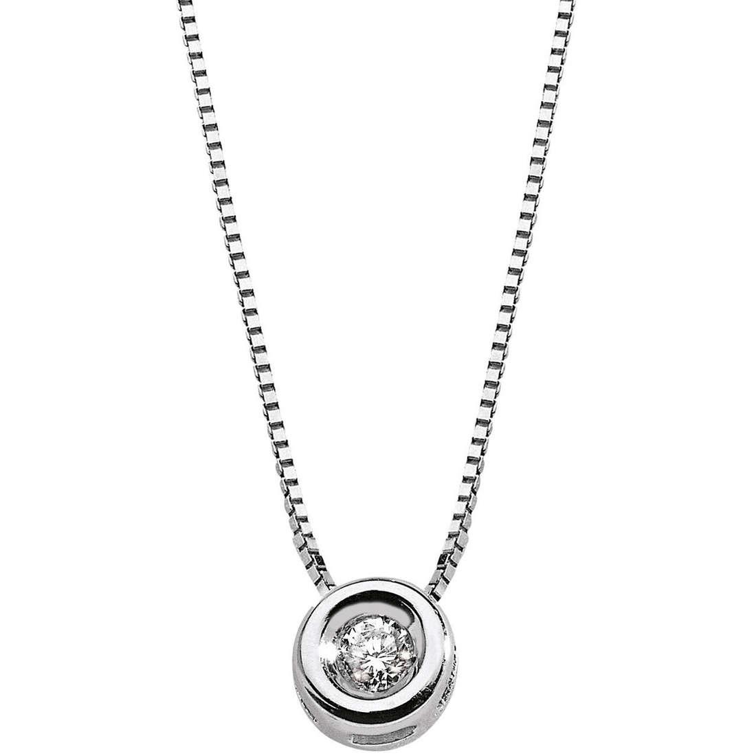 collana donna gioielli Comete Punto luce GLB 137