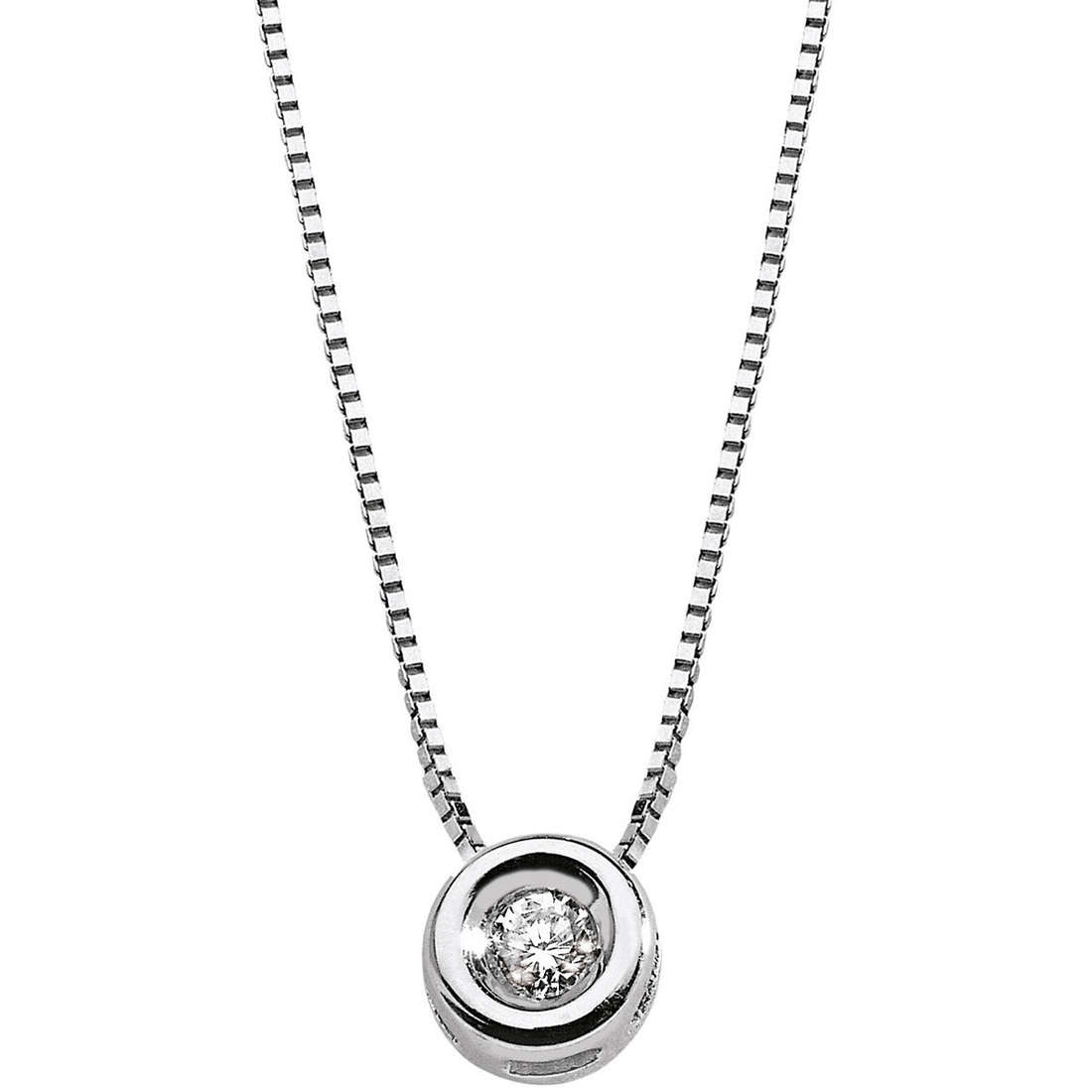 collana donna gioielli Comete Punto luce GLB 139