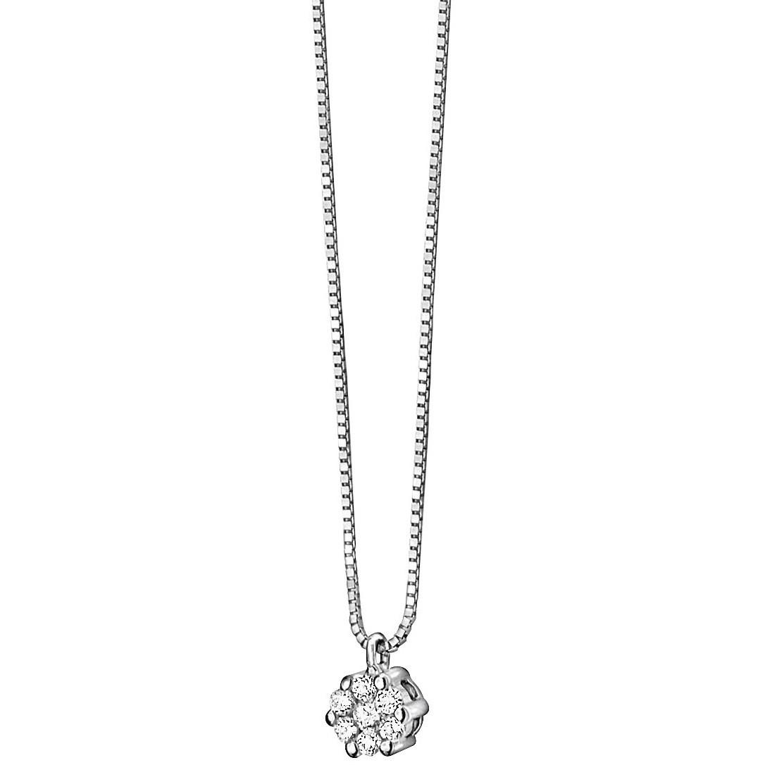 collana donna gioielli Comete Punto luce GLB 610