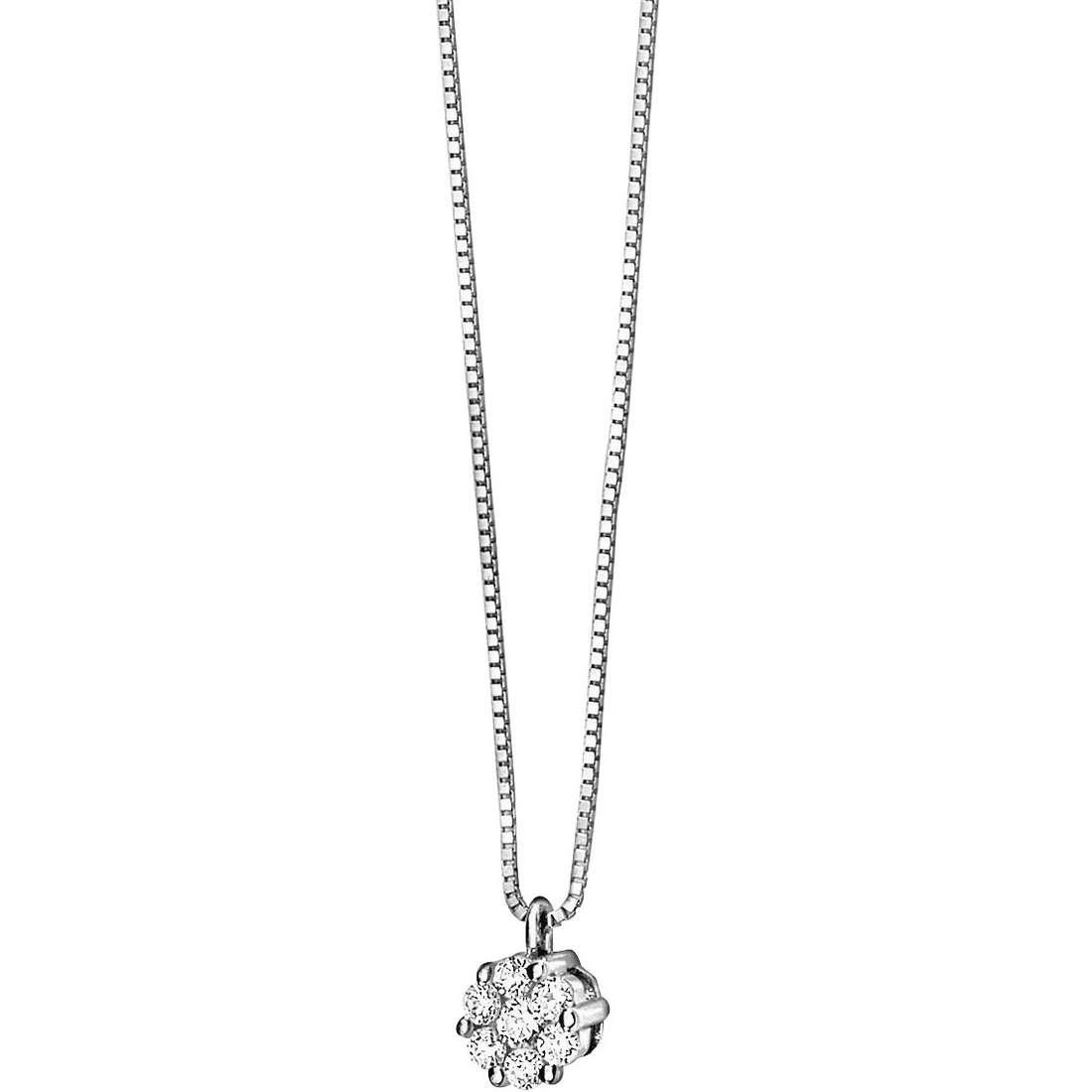 collana donna gioielli Comete Punto luce GLB 611