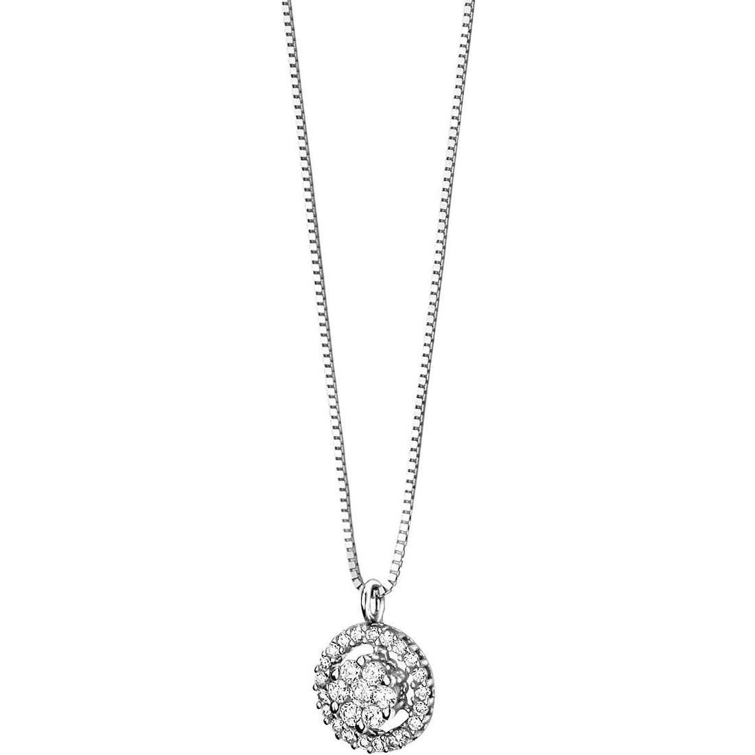 collana donna gioielli Comete Punto luce GLB 616