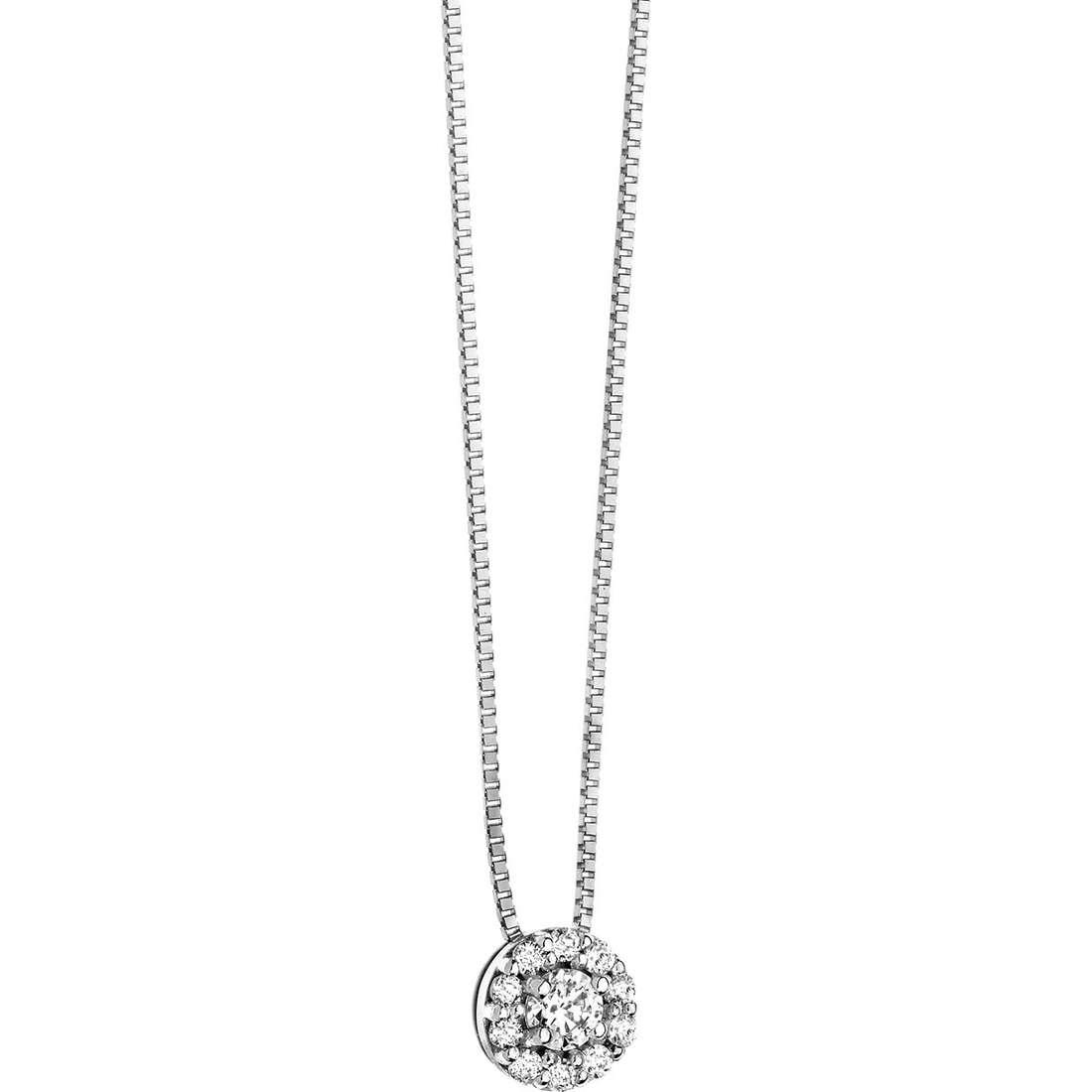 collana donna gioielli Comete Punto luce GLB 822
