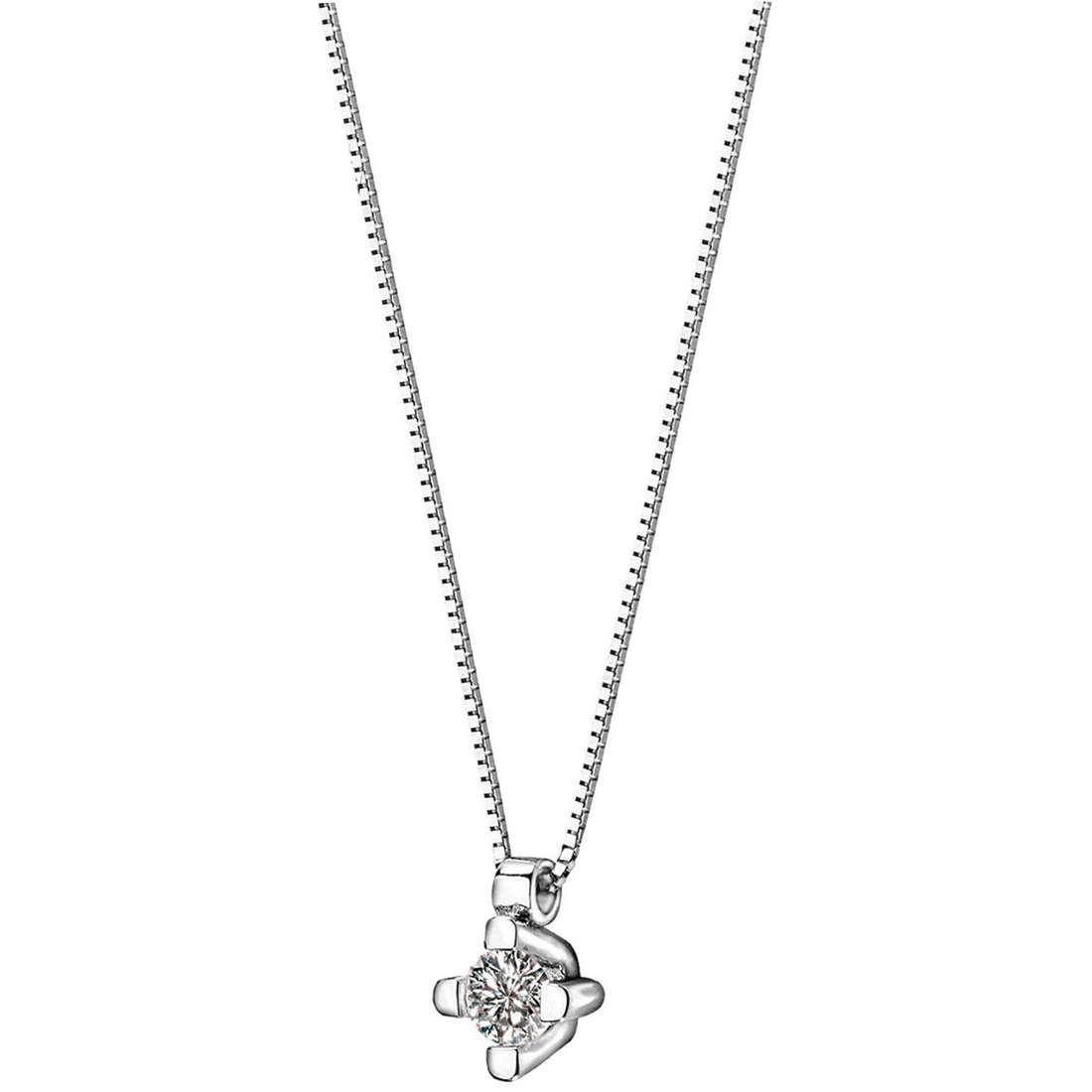 collana donna gioielli Comete Punto luce GLB 856