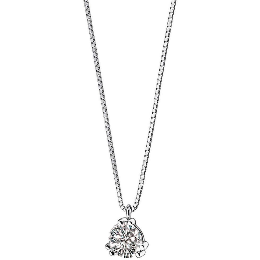 collana donna gioielli Comete Punto luce GLB 864
