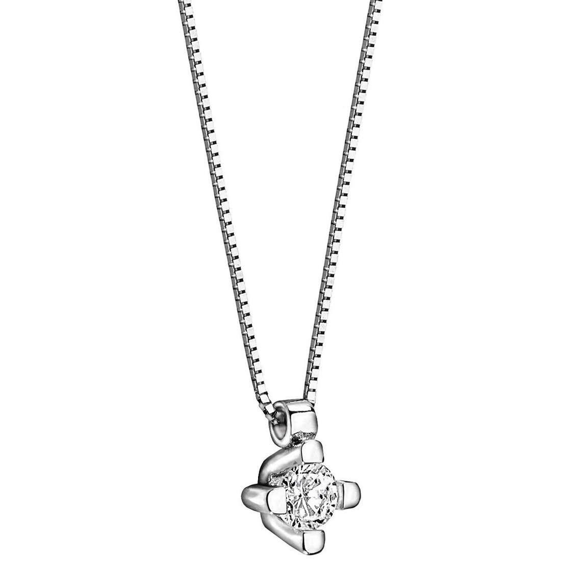 collana donna gioielli Comete Punto luce GLB 867