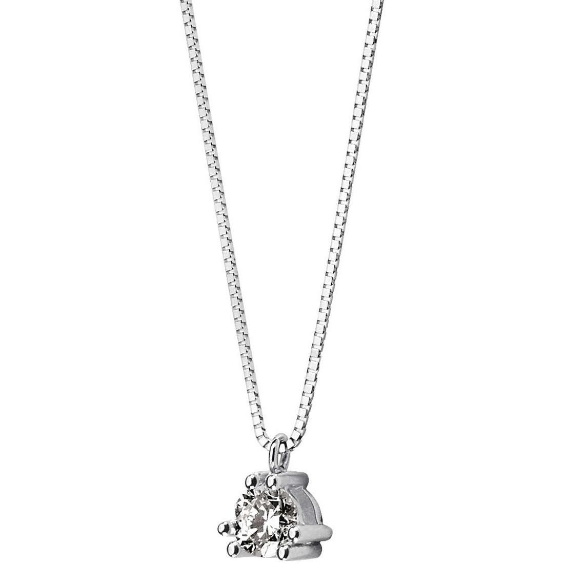 collana donna gioielli Comete Punto luce GLB 868