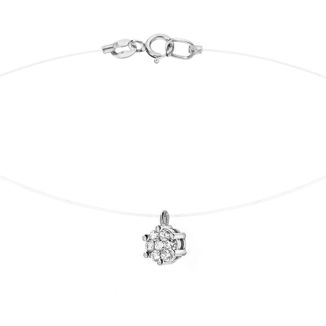 collana donna gioielli Comete Punto luce GLB 870