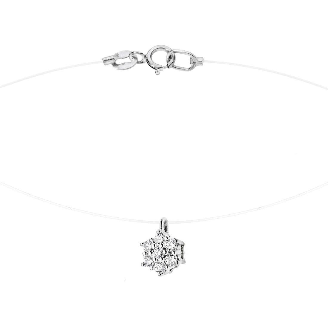 collana donna gioielli Comete Punto luce GLB 872