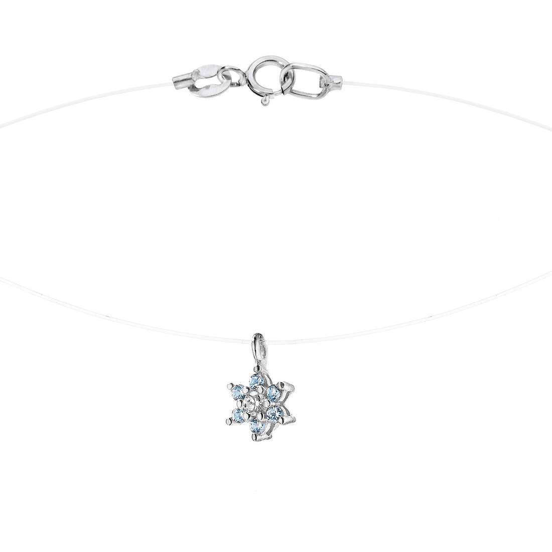 collana donna gioielli Comete Punto luce GLB 877