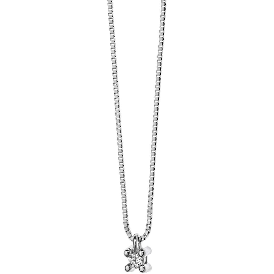 collana donna gioielli Comete Punto luce GLB 892