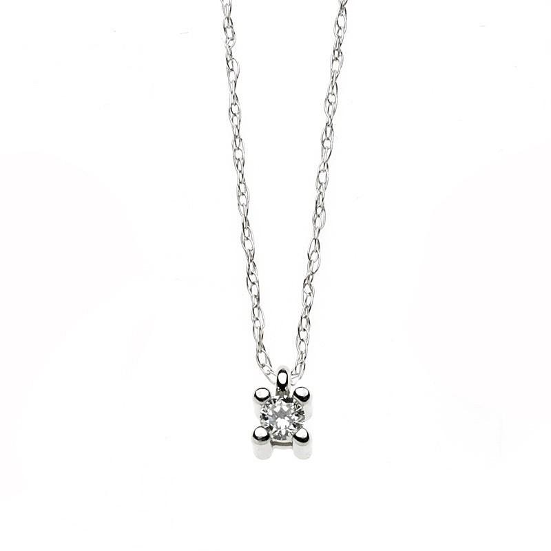 collana donna gioielli Comete Punto luce GLB 906