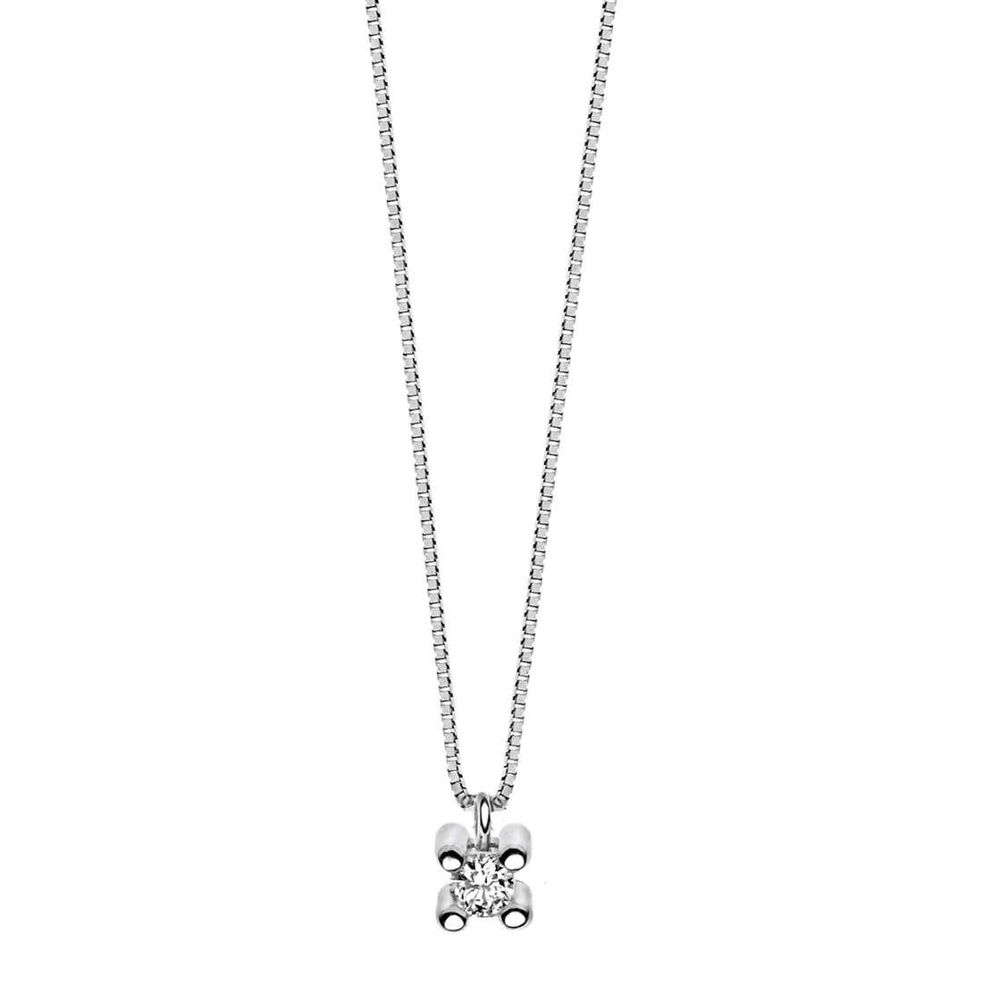 collana donna gioielli Comete Punto luce GLB 908