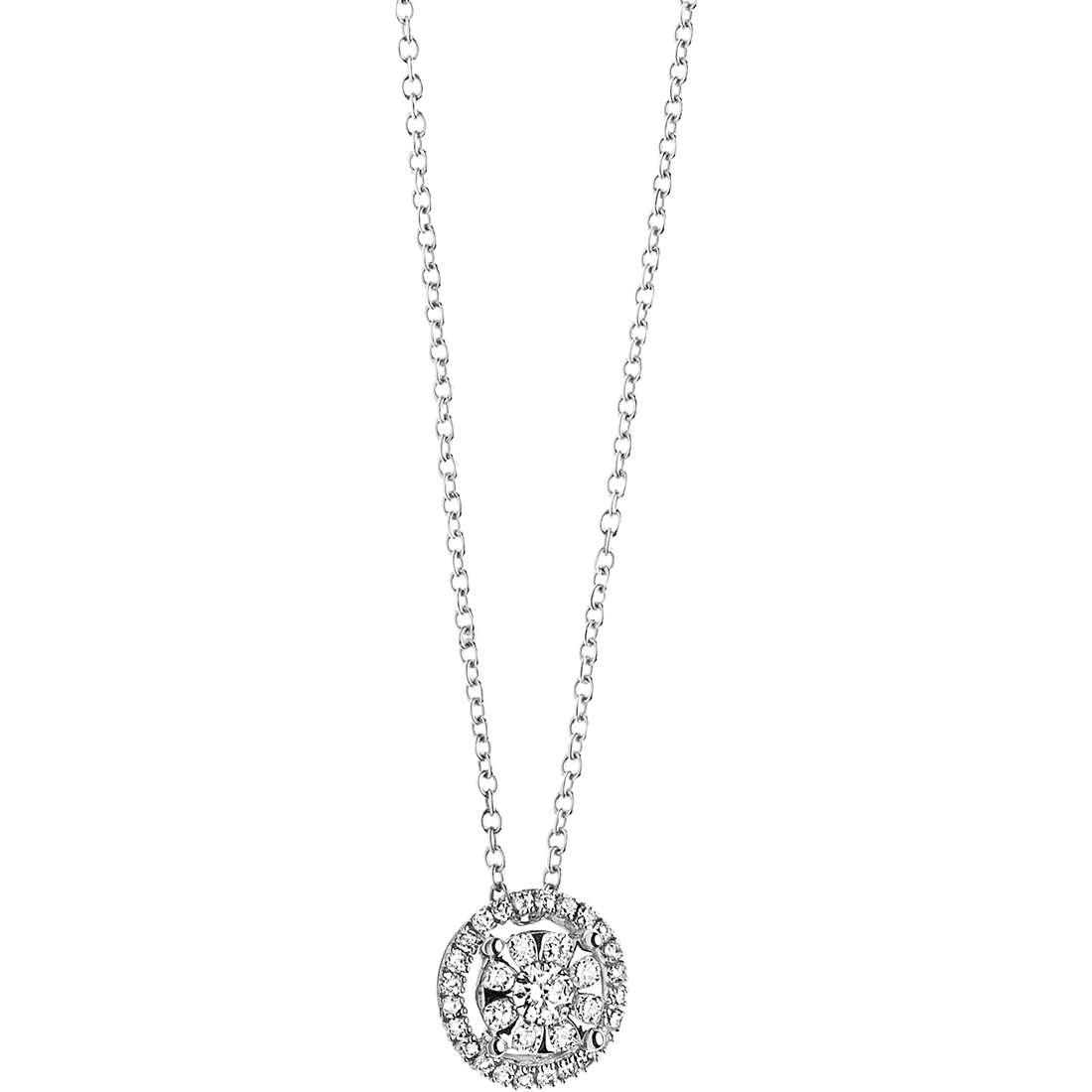 collana donna gioielli Comete Punto luce GLB 924