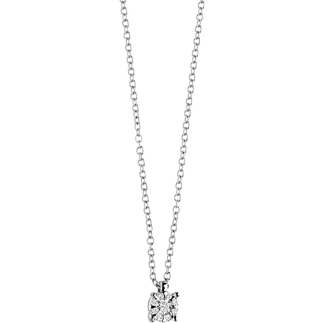 collana donna gioielli Comete Punto luce GLB 925
