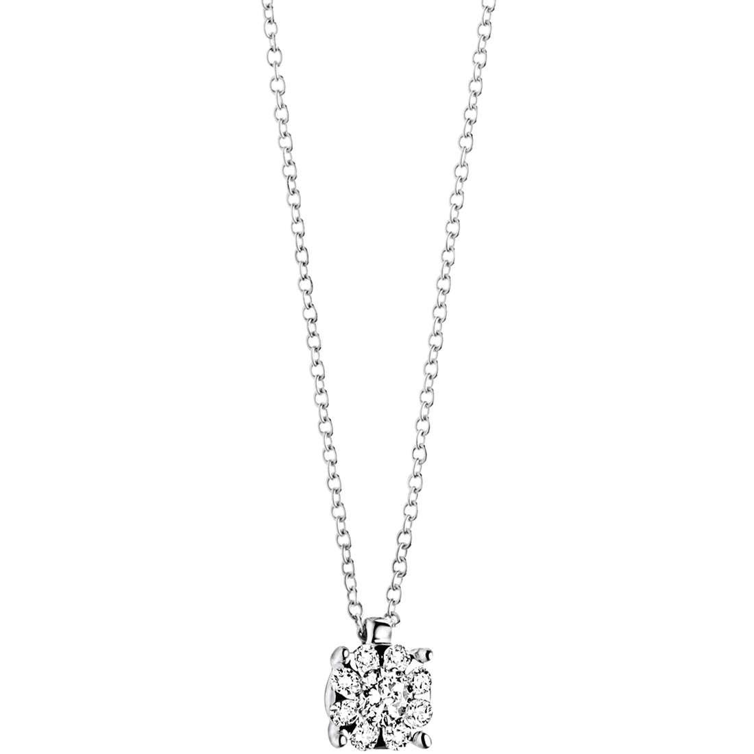 collana donna gioielli Comete Punto luce GLB 927
