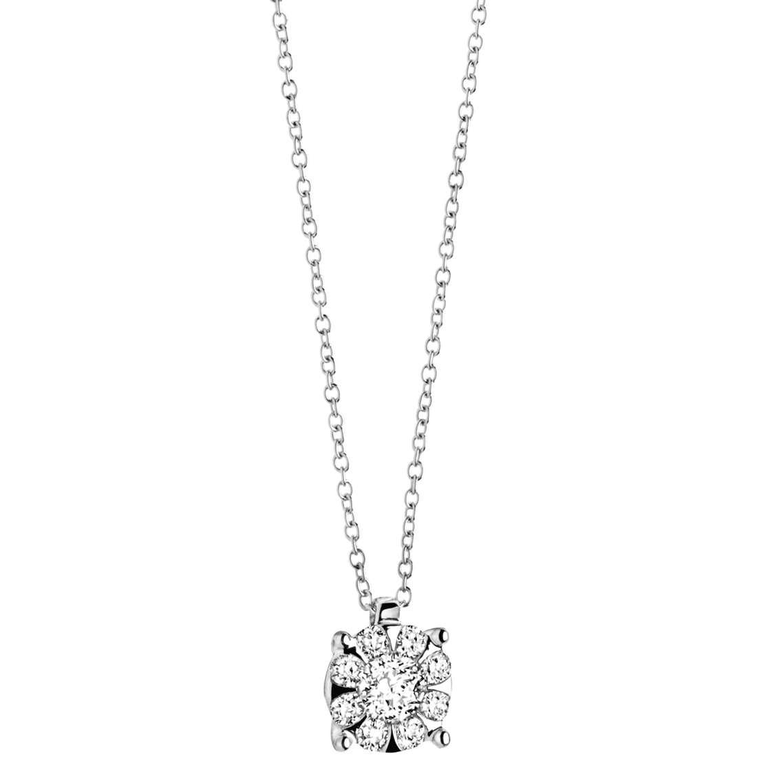 collana donna gioielli Comete Punto luce GLB 928