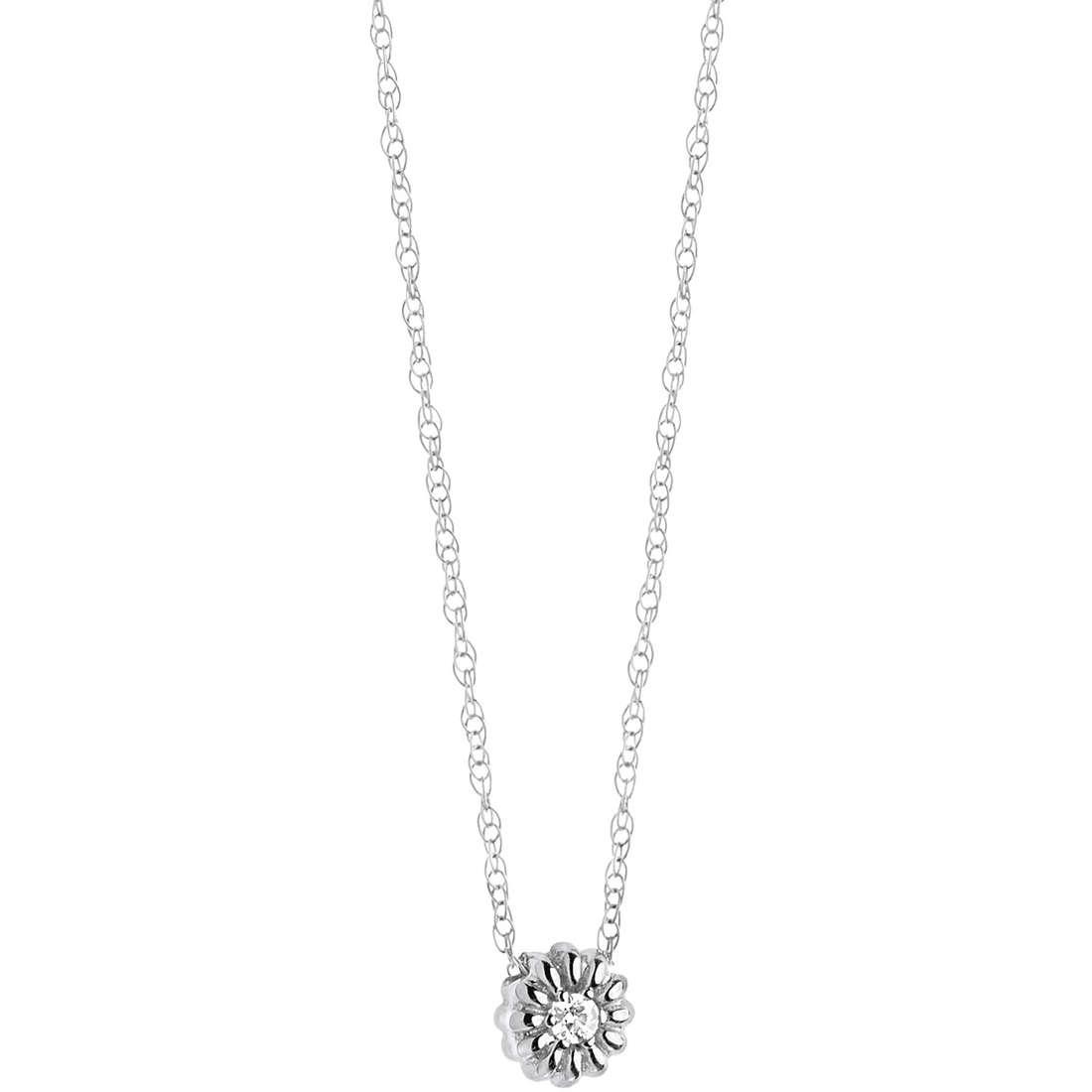 collana donna gioielli Comete Punto luce GLB 956