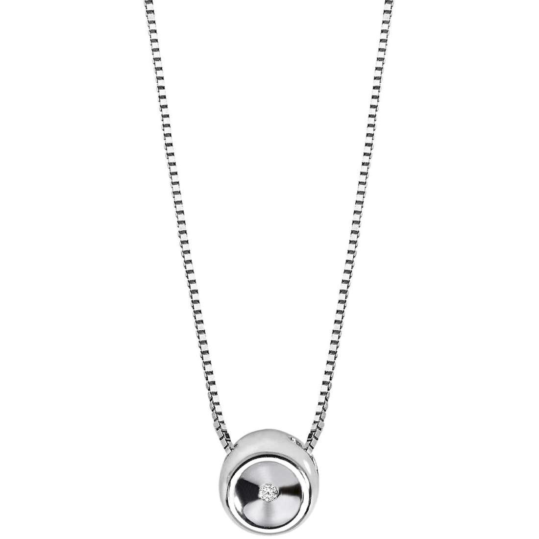 collana donna gioielli Comete Punto luce GLB 968