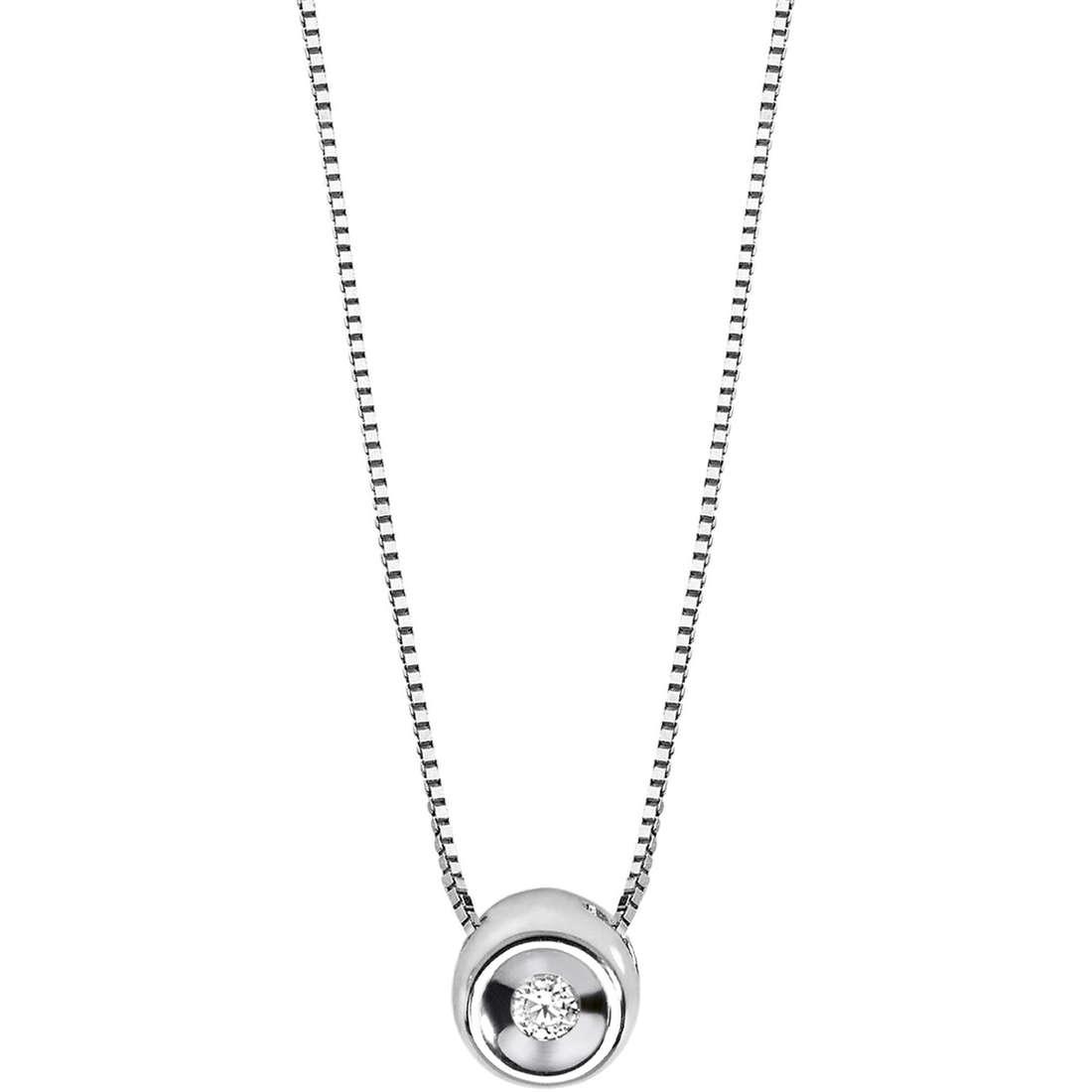 collana donna gioielli Comete Punto luce GLB 972