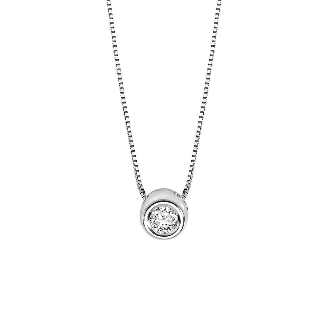 collana donna gioielli Comete Punto luce GLB 975
