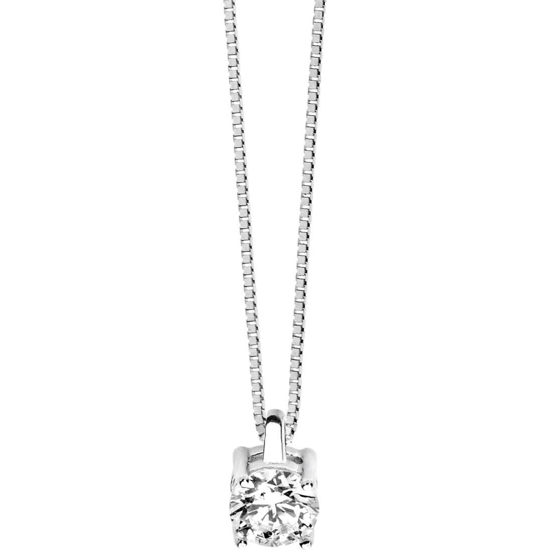 collana donna gioielli Comete Punto luce GLB 978