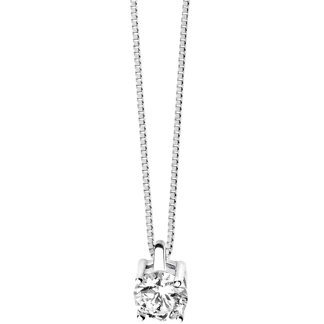 collana donna gioielli Comete Punto luce GLB 979