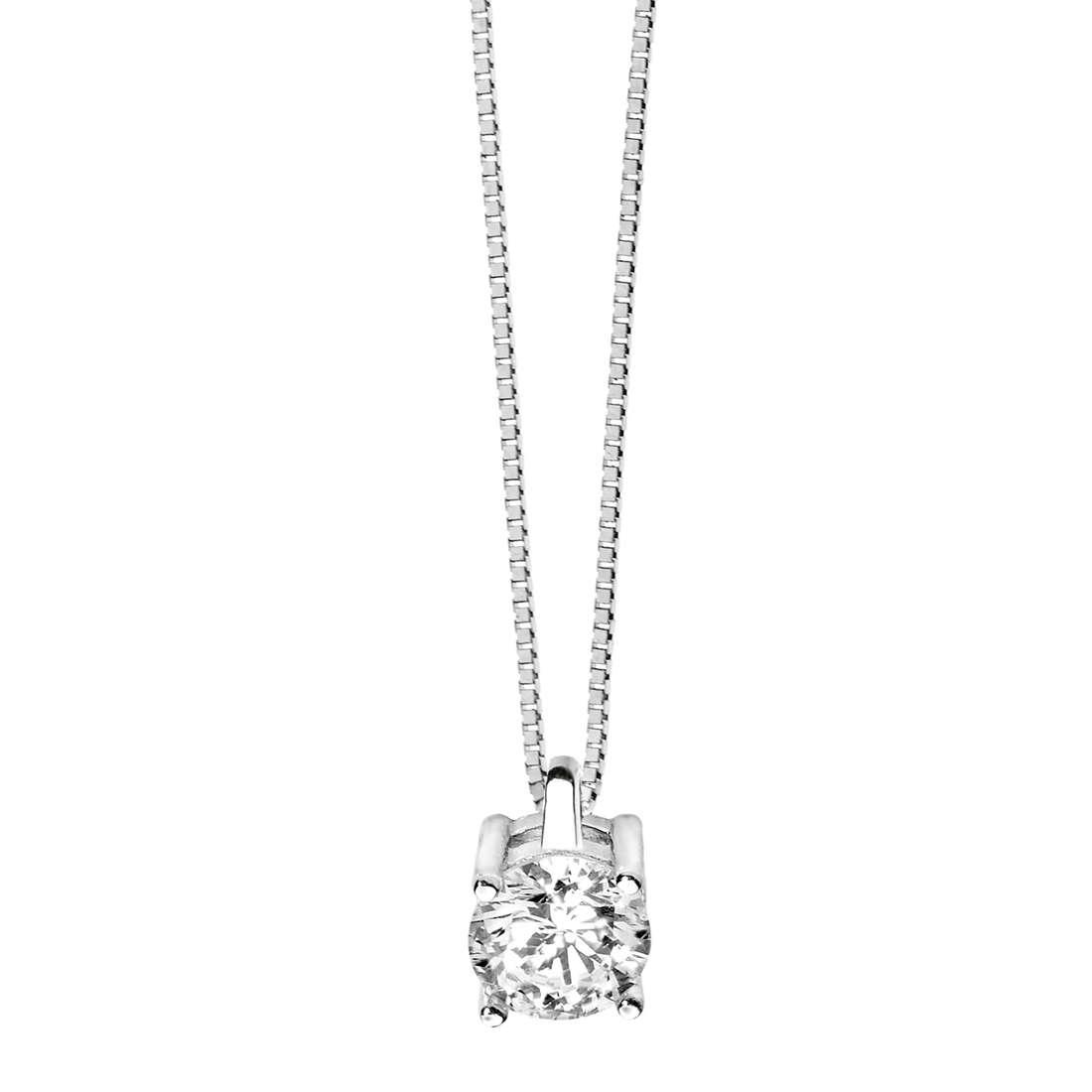 collana donna gioielli Comete Punto luce GLB 980