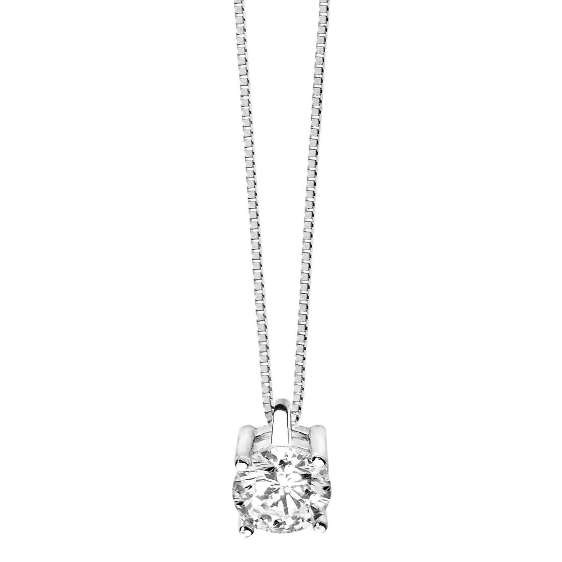 collana donna gioielli Comete Punto luce GLB 981