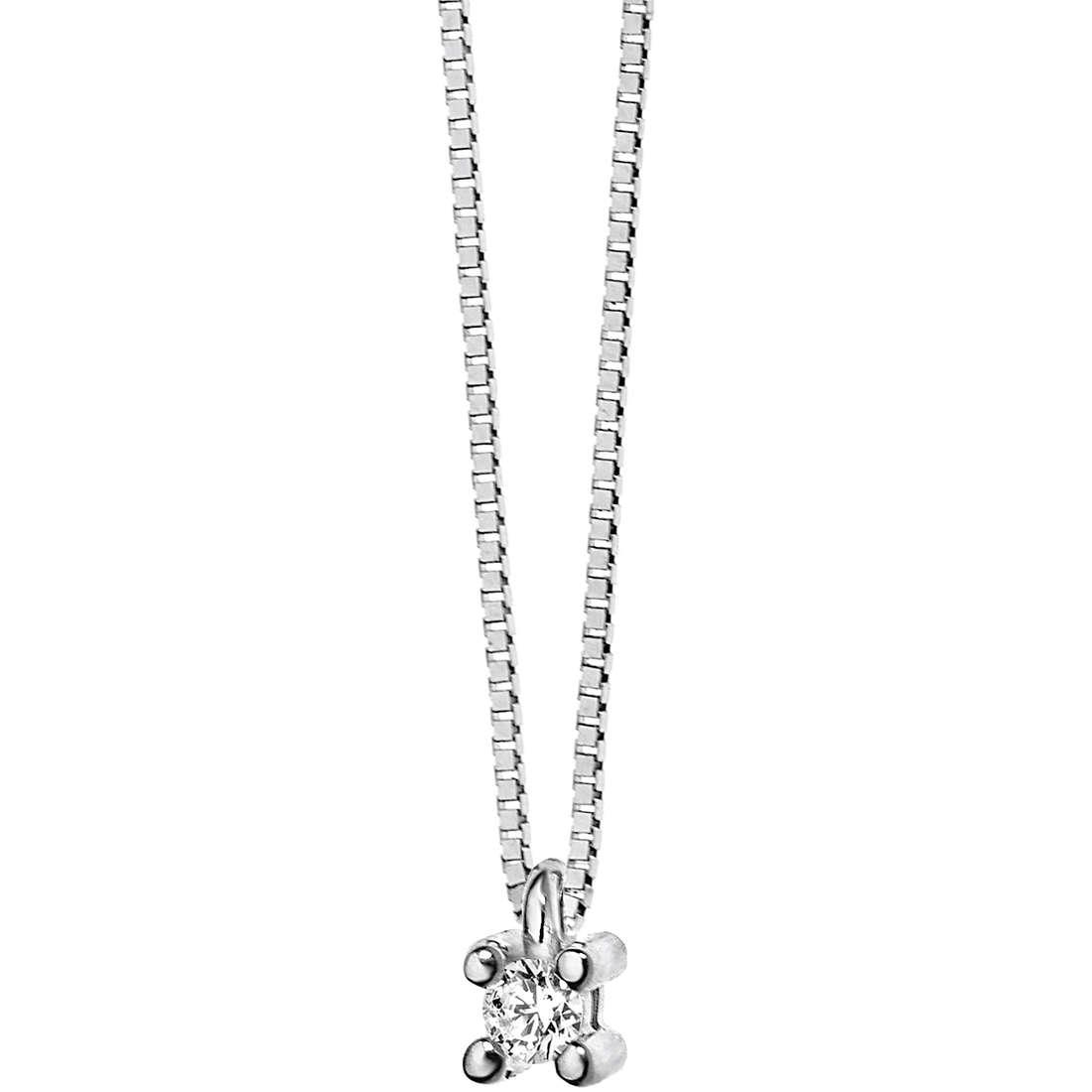 collana donna gioielli Comete Punto luce GLB 982