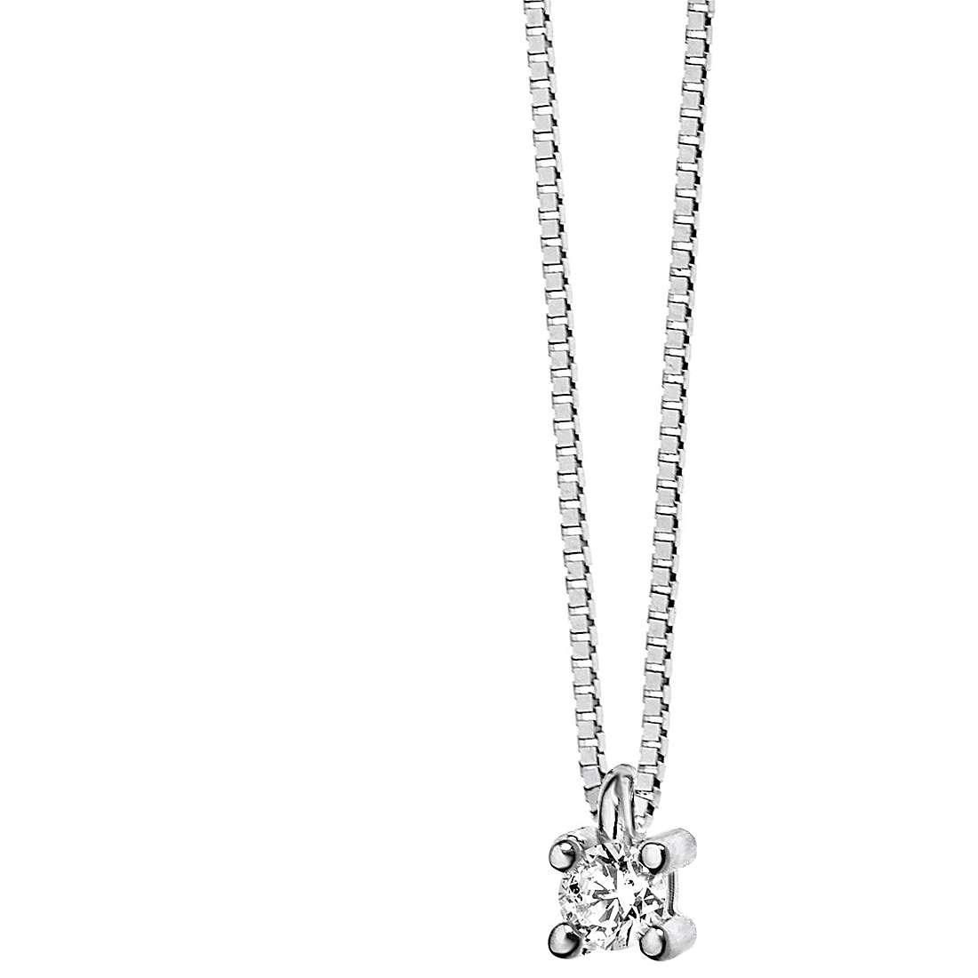 collana donna gioielli Comete Punto luce GLB 983