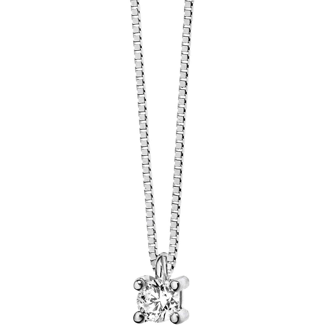 collana donna gioielli Comete Punto luce GLB 984