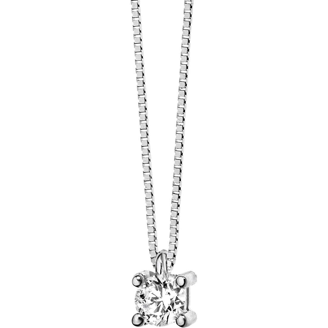 collana donna gioielli Comete Punto luce GLB 985