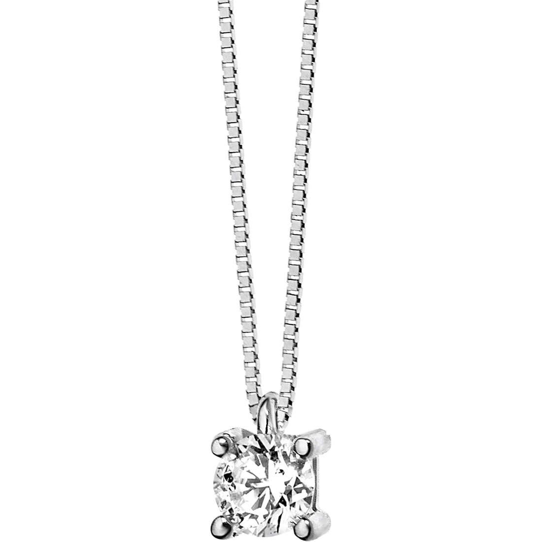 collana donna gioielli Comete Punto luce GLB 986