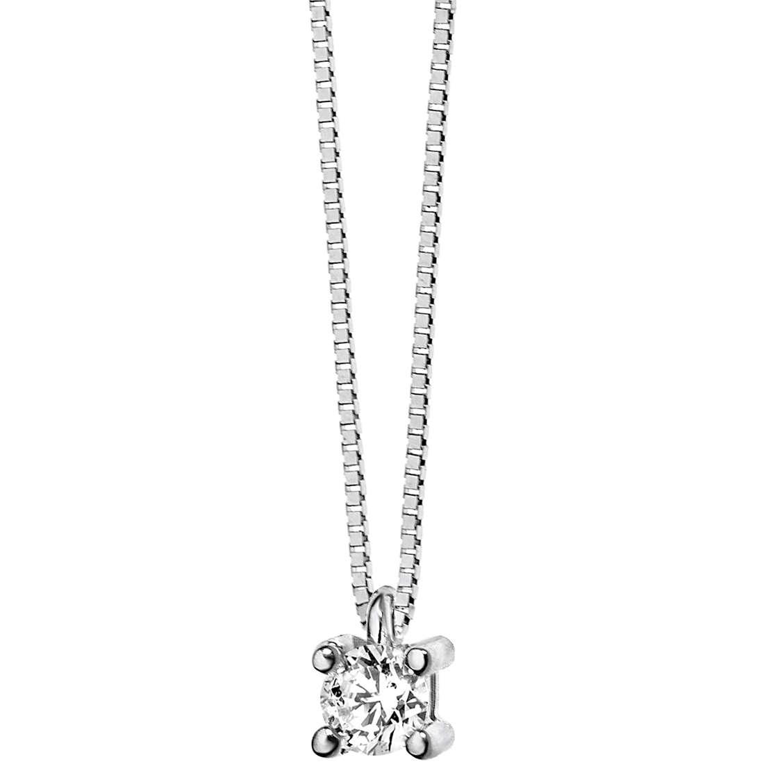 collana donna gioielli Comete Punto luce GLB 987