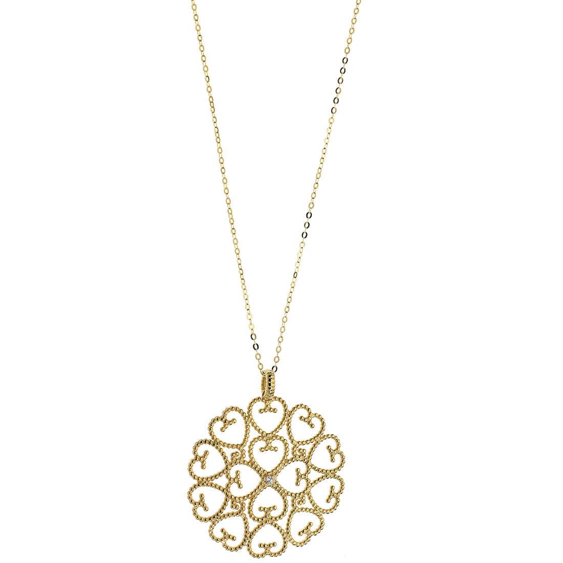 collana donna gioielli Comete Regina GLB 1186