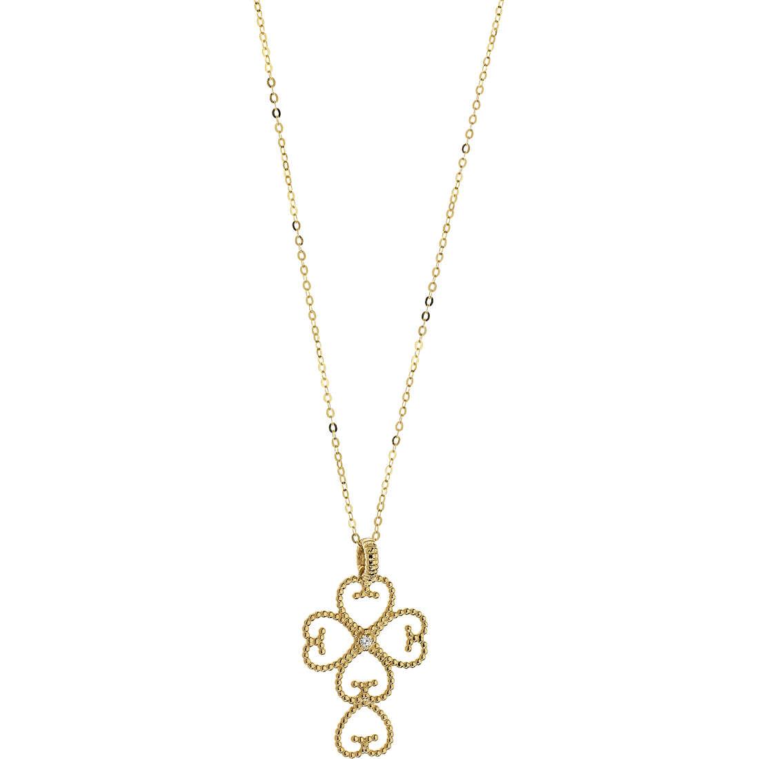 collana donna gioielli Comete Regina GLB 1187