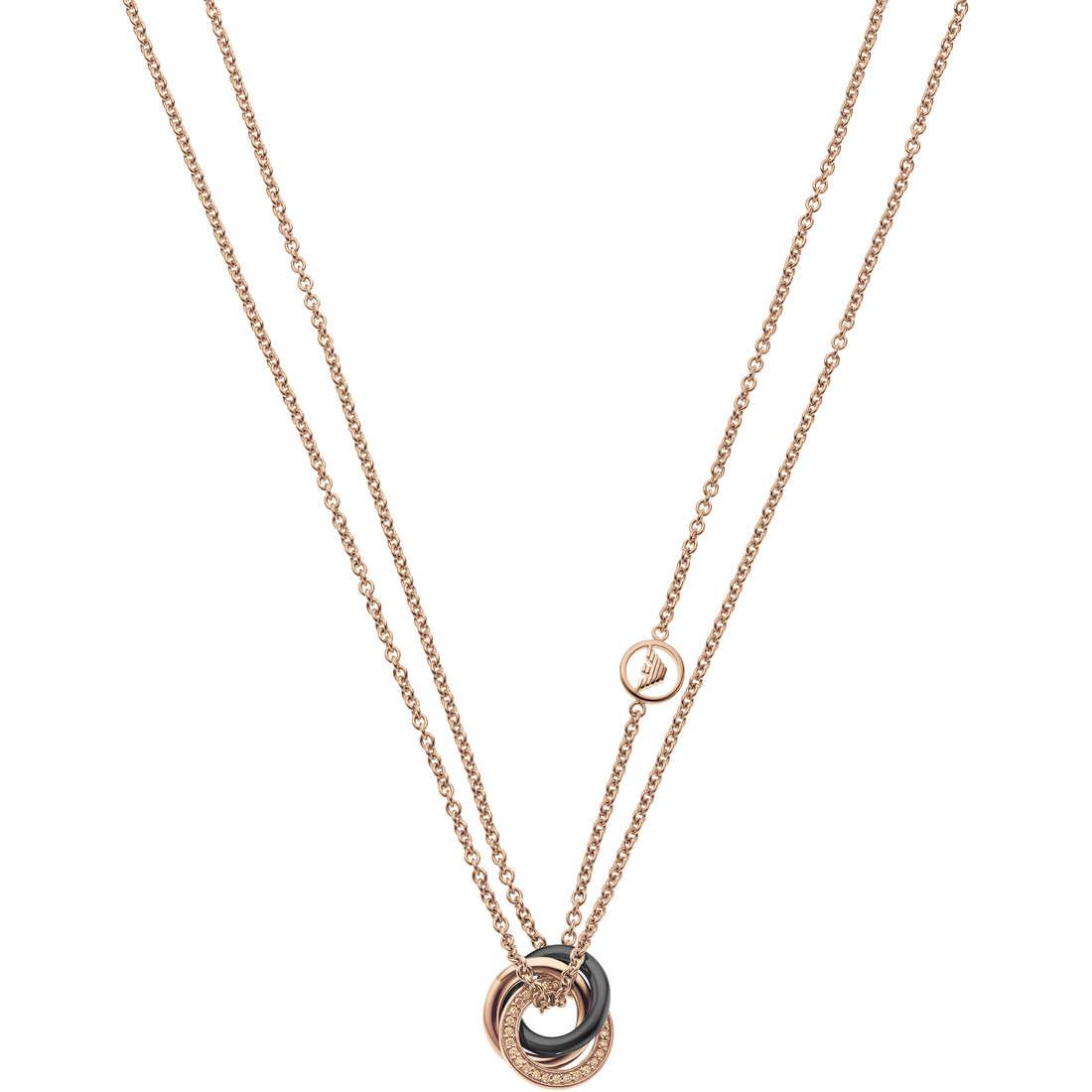 collana donna gioielli Emporio Armani Fall 2013 EG3084221