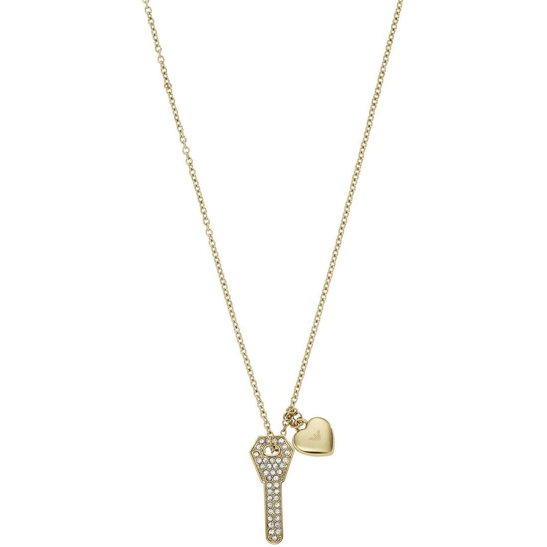 collana donna gioielli Emporio Armani Signature EGS2201710