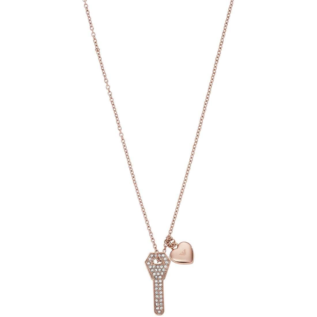 collana donna gioielli Emporio Armani Signature EGS2203221