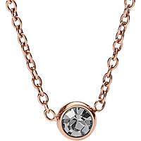 collana donna gioielli Fossil Classics JF02533791