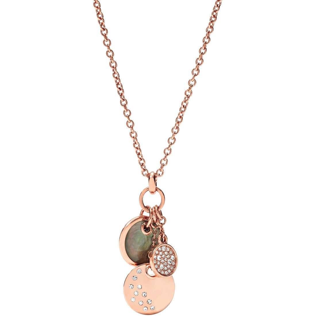 collana donna gioielli Fossil Fall 14 JF01417791